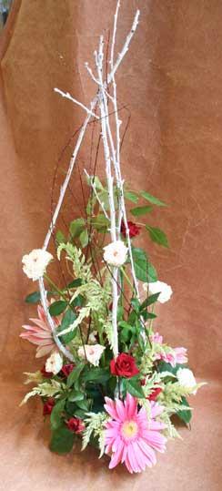 花ギフト|フラワーギフト|誕生日 花|カノシェ話題|スタンド花|ウエディングブーケ|花束|花屋|えみこさん白