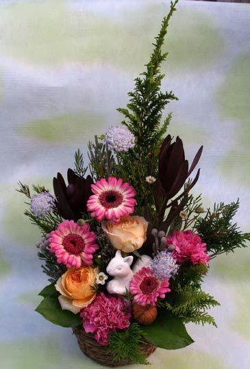 花ギフト|フラワーギフト|誕生日 花|カノシェ話題|スタンド花|ウエディングブーケ|花束|花屋|2015_aut_a_4(1)