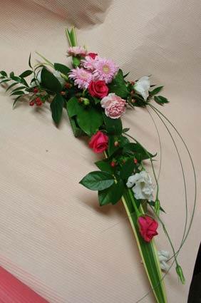 花ギフト フラワーギフト 誕生日 花 カノシェ話題 スタンド花 ウエディングブーケ 花束 花屋 中西さんピンク