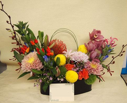 花ギフト フラワーギフト 誕生日 花 カノシェ話題 スタンド花 ウエディングブーケ 花束 花屋 b01d2664