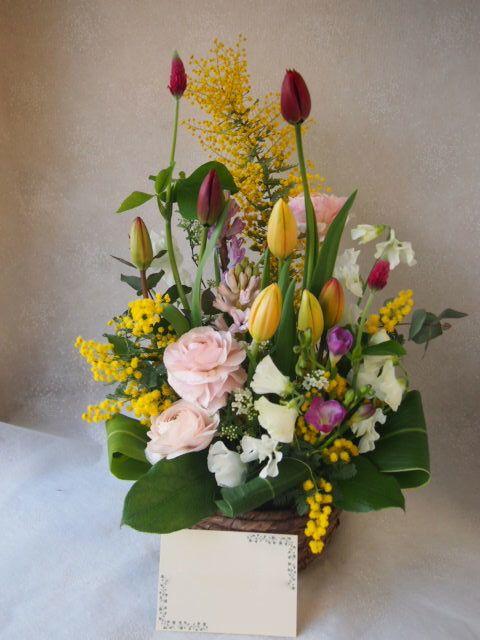 花ギフト|フラワーギフト|誕生日 花|カノシェ話題|スタンド花|ウエディングブーケ|花束|花屋|53366(1)