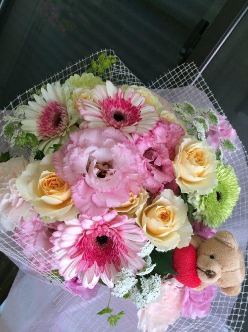 花ギフト|フラワーギフト|誕生日 花|カノシェ話題|スタンド花|ウエディングブーケ|花束|花屋|IMG_5084