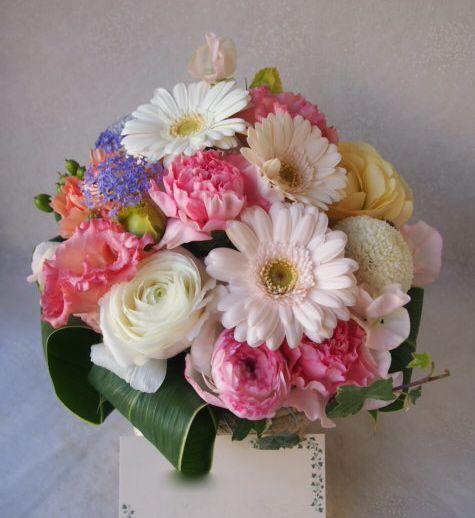 花ギフト|フラワーギフト|誕生日 花|カノシェ話題|スタンド花|ウエディングブーケ|花束|花屋|53646