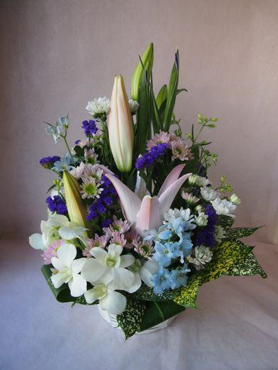 花ギフト|フラワーギフト|誕生日 花|カノシェ話題|スタンド花|ウエディングブーケ|花束|花屋|37887