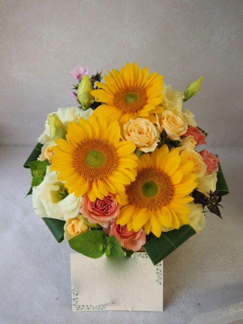 花ギフト|フラワーギフト|誕生日 花|カノシェ話題|スタンド花|ウエディングブーケ|花束|花屋|56959