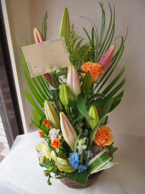 花ギフト|フラワーギフト|誕生日 花|カノシェ話題|スタンド花|ウエディングブーケ|花束|花屋|41562