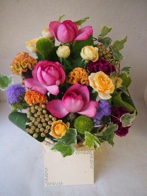 花ギフト|フラワーギフト|誕生日 花|カノシェ話題|スタンド花|ウエディングブーケ|花束|花屋|51226