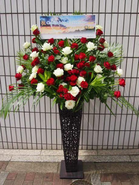 花ギフト|フラワーギフト|誕生日 花|カノシェ話題|スタンド花|ウエディングブーケ|花束|花屋|赤坂青明会館