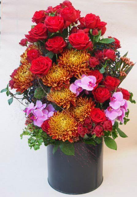 花ギフト|フラワーギフト|誕生日 花|カノシェ話題|スタンド花|ウエディングブーケ|花束|花屋|PA136605