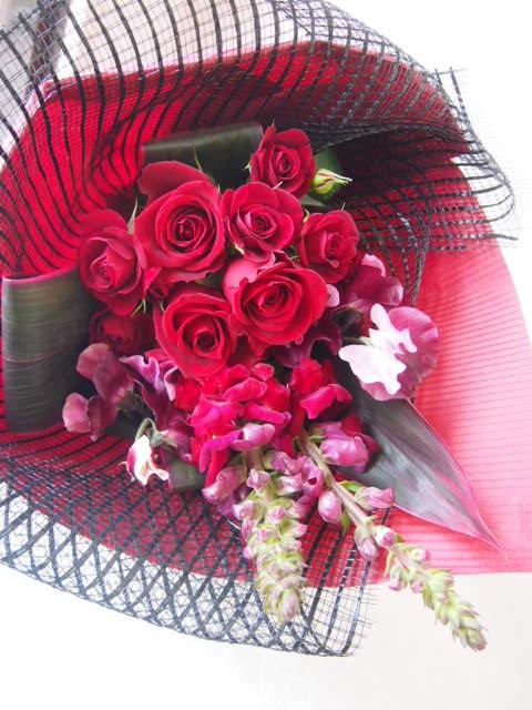 花ギフト|フラワーギフト|誕生日 花|カノシェ話題|スタンド花|ウエディングブーケ|花束|花屋|46097