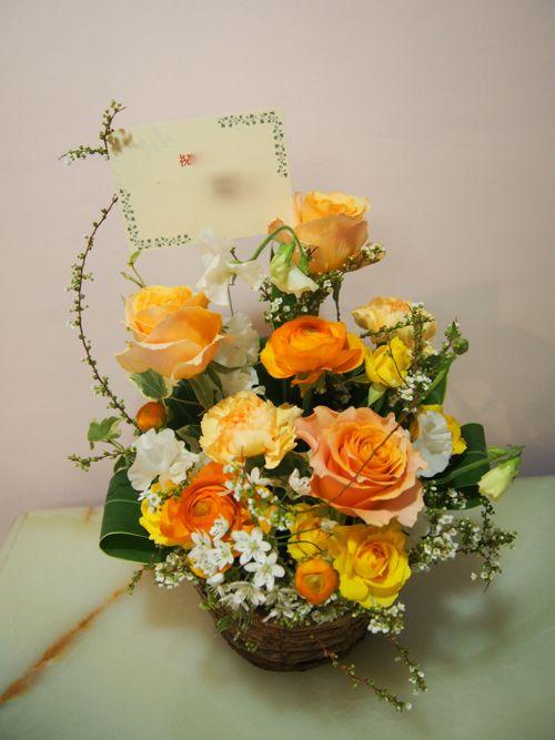 花ギフト|フラワーギフト|誕生日 花|カノシェ話題|スタンド花|ウエディングブーケ|花束|花屋|54802
