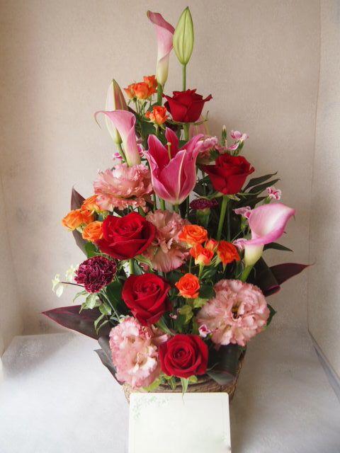 花ギフト|フラワーギフト|誕生日 花|カノシェ話題|スタンド花|ウエディングブーケ|花束|花屋|56067
