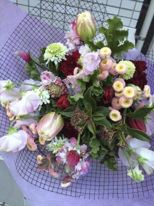 花ギフト|フラワーギフト|誕生日 花|カノシェ話題|スタンド花|ウエディングブーケ|花束|花屋|IMG_8983