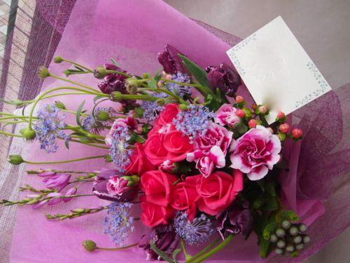花ギフト|フラワーギフト|誕生日 花|カノシェ話題|スタンド花|ウエディングブーケ|花束|花屋|45866