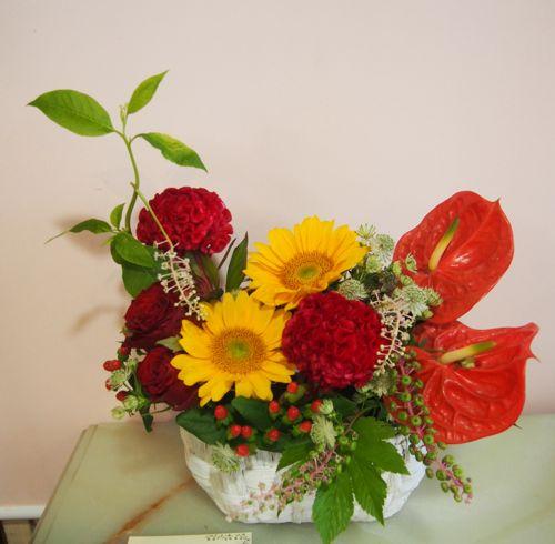 花ギフト|フラワーギフト|誕生日 花|カノシェ話題|スタンド花|ウエディングブーケ|花束|花屋|56766