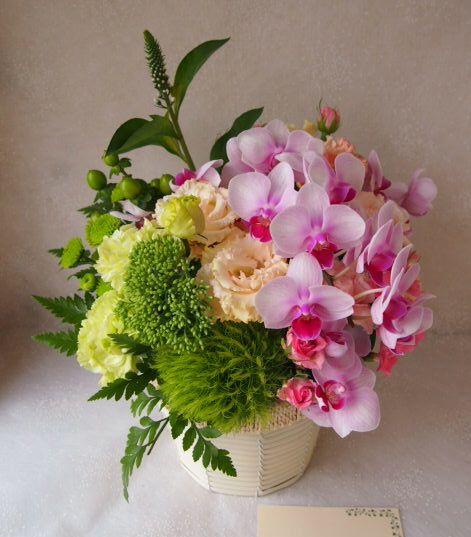 花ギフト|フラワーギフト|誕生日 花|カノシェ話題|スタンド花|ウエディングブーケ|花束|花屋|57166