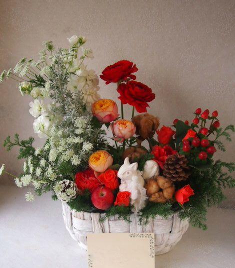 花ギフト|フラワーギフト|誕生日 花|カノシェ話題|スタンド花|ウエディングブーケ|花束|花屋|52384
