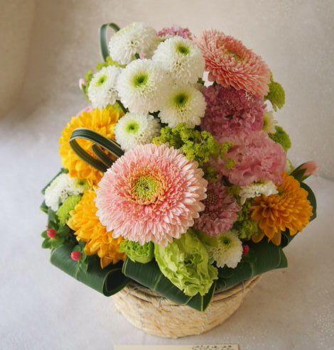 花ギフト|フラワーギフト|誕生日 花|カノシェ話題|スタンド花|ウエディングブーケ|花束|花屋|55699