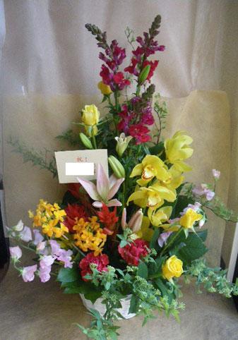 花ギフト|フラワーギフト|誕生日 花|カノシェ話題|スタンド花|ウエディングブーケ|花束|花屋|黄色シンビ