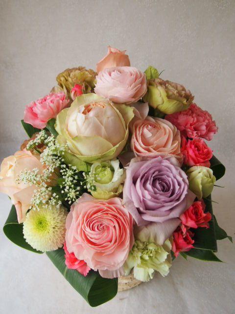 花ギフト|フラワーギフト|誕生日 花|カノシェ話題|スタンド花|ウエディングブーケ|花束|花屋|54717