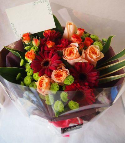 花ギフト|フラワーギフト|誕生日 花|カノシェ話題|スタンド花|ウエディングブーケ|花束|花屋|39195
