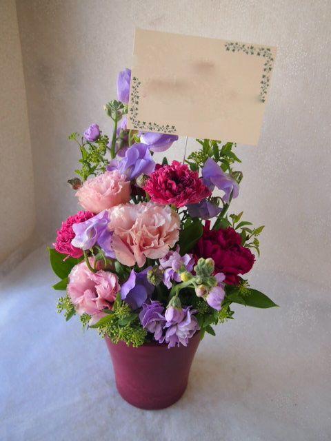 花ギフト|フラワーギフト|誕生日 花|カノシェ話題|スタンド花|ウエディングブーケ|花束|花屋|54046