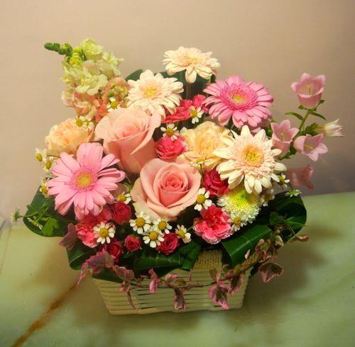 花ギフト|フラワーギフト|誕生日 花|カノシェ話題|スタンド花|ウエディングブーケ|花束|花屋|55819