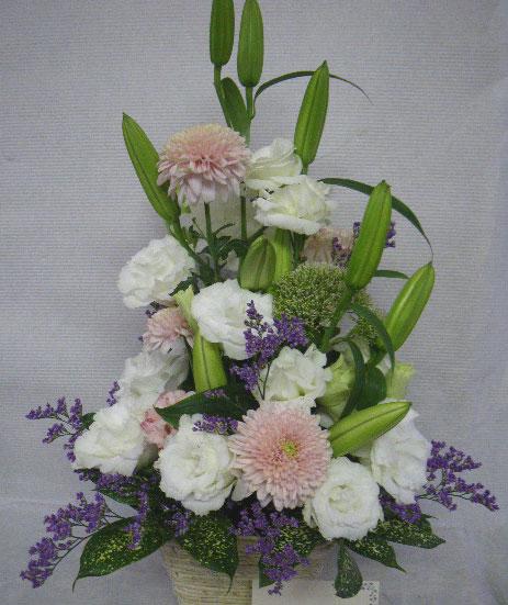 花ギフト|フラワーギフト|誕生日 花|カノシェ話題|スタンド花|ウエディングブーケ|花束|花屋|15837