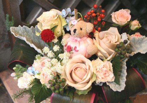 花ギフト フラワーギフト 誕生日 花 カノシェ話題 スタンド花 ウエディングブーケ 花束 花屋 キラキラ