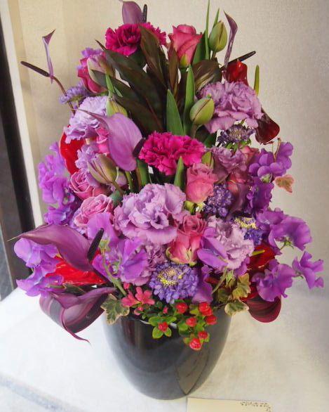 花ギフト|フラワーギフト|誕生日 花|カノシェ話題|スタンド花|ウエディングブーケ|花束|花屋|53899