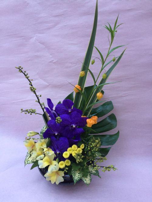 花ギフト|フラワーギフト|誕生日 花|カノシェ話題|スタンド花|ウエディングブーケ|花束|花屋|IMG_8978