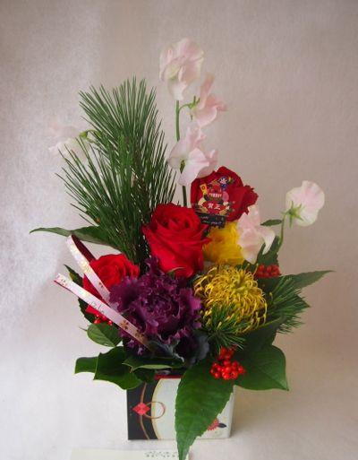 花ギフト フラワーギフト 誕生日 花 カノシェ話題 スタンド花 ウエディングブーケ 花束 花屋 37763