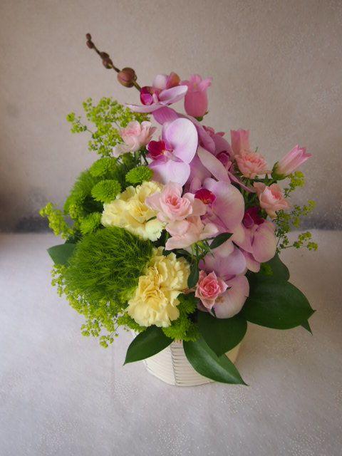 花ギフト|フラワーギフト|誕生日 花|カノシェ話題|スタンド花|ウエディングブーケ|花束|花屋|55852