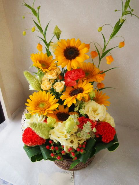 花ギフト|フラワーギフト|誕生日 花|カノシェ話題|スタンド花|ウエディングブーケ|花束|花屋|56954