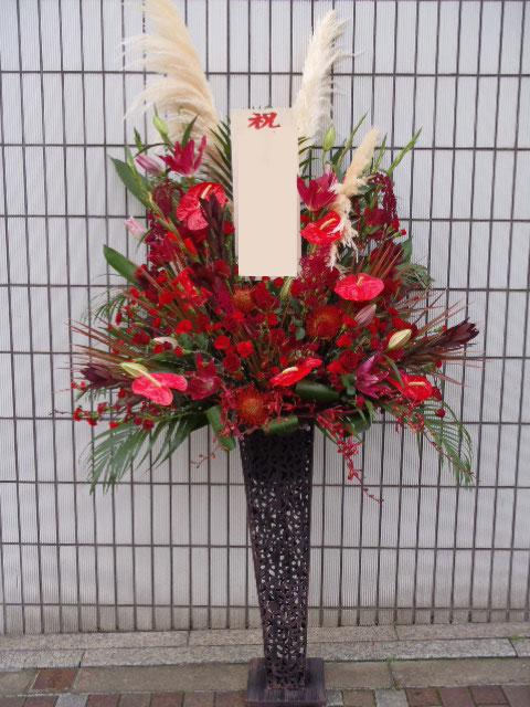 花ギフト|フラワーギフト|誕生日 花|カノシェ話題|スタンド花|ウエディングブーケ|花束|花屋|赤スペシャルアイアン