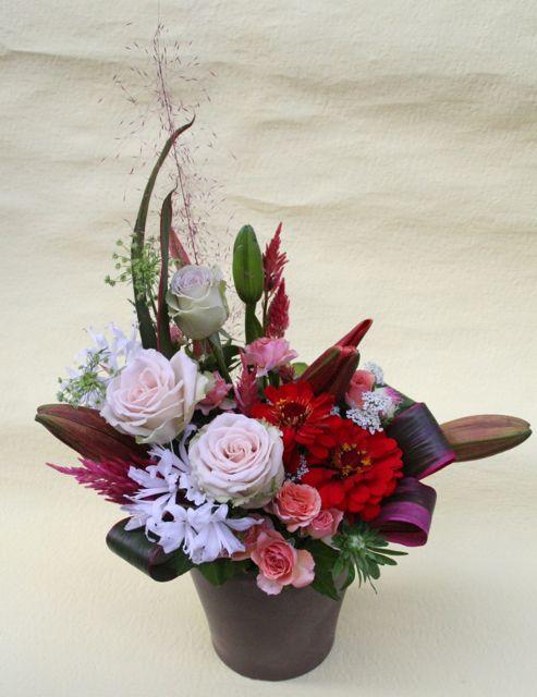 花ギフト|フラワーギフト|誕生日 花|カノシェ話題|スタンド花|ウエディングブーケ|花束|花屋|IMG_0260