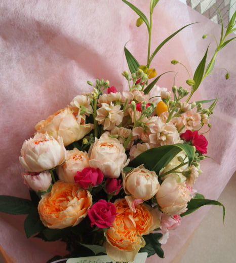 花ギフト|フラワーギフト|誕生日 花|カノシェ話題|スタンド花|ウエディングブーケ|花束|花屋|53908