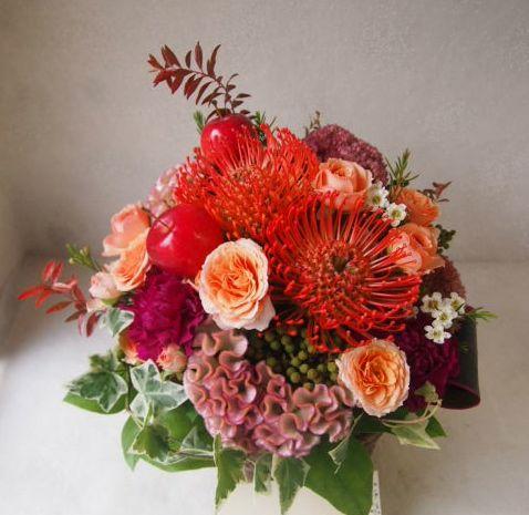 花ギフト|フラワーギフト|誕生日 花|カノシェ話題|スタンド花|ウエディングブーケ|花束|花屋|50712