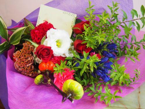 花ギフト|フラワーギフト|誕生日 花|カノシェ話題|スタンド花|ウエディングブーケ|花束|花屋|57992
