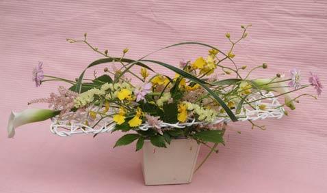 花ギフト フラワーギフト 誕生日 花 カノシェ話題 スタンド花 ウエディングブーケ 花束 花屋 IMG_7451