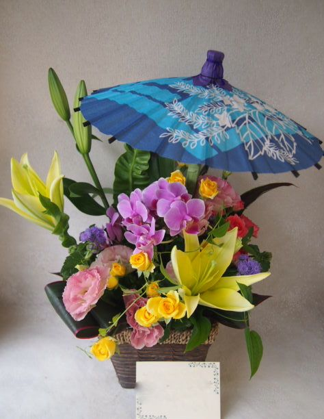 花ギフト|フラワーギフト|誕生日 花|カノシェ話題|スタンド花|ウエディングブーケ|花束|花屋|49665(1)