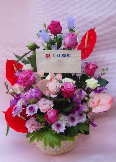 花ギフト|フラワーギフト|誕生日 花|カノシェ話題|スタンド花|ウエディングブーケ|花束|花屋|P6045433