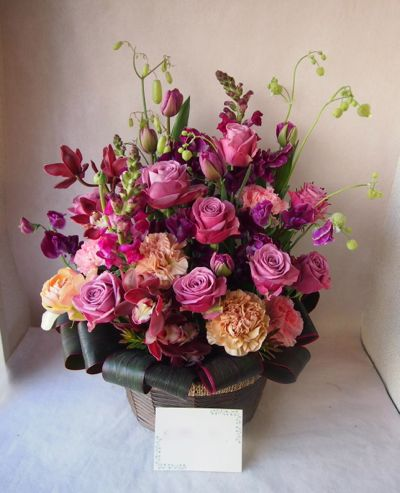 花ギフト|フラワーギフト|誕生日 花|カノシェ話題|スタンド花|ウエディングブーケ|花束|花屋|38179