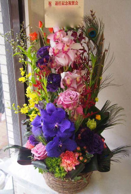 花ギフト|フラワーギフト|誕生日 花|カノシェ話題|スタンド花|ウエディングブーケ|花束|花屋|53618