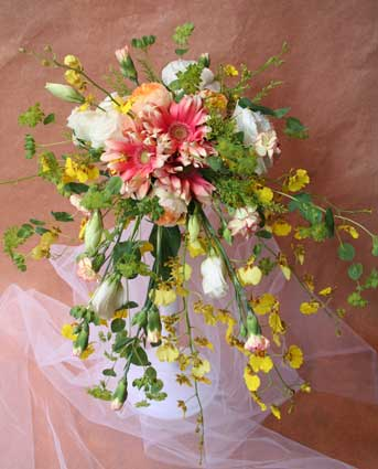 花ギフト|フラワーギフト|誕生日 花|カノシェ話題|スタンド花|ウエディングブーケ|花束|花屋|えみこさんブーケ