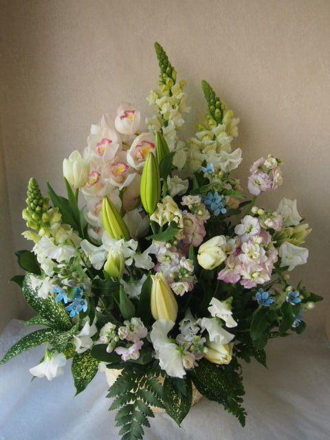花ギフト|フラワーギフト|誕生日 花|カノシェ話題|スタンド花|ウエディングブーケ|花束|花屋|53455