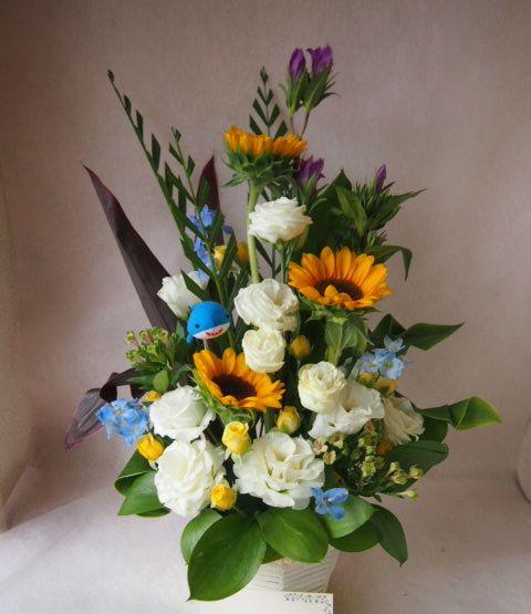 花ギフト|フラワーギフト|誕生日 花|カノシェ話題|スタンド花|ウエディングブーケ|花束|花屋|42432