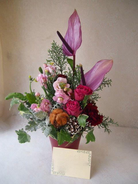 花ギフト|フラワーギフト|誕生日 花|カノシェ話題|スタンド花|ウエディングブーケ|花束|花屋|52589