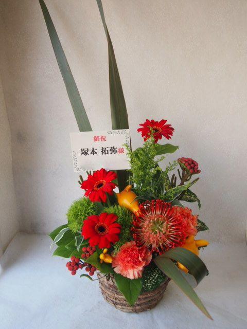 花ギフト|フラワーギフト|誕生日 花|カノシェ話題|スタンド花|ウエディングブーケ|花束|花屋|51161