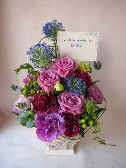 花ギフト|フラワーギフト|誕生日 花|カノシェ話題|スタンド花|ウエディングブーケ|花束|花屋|40862